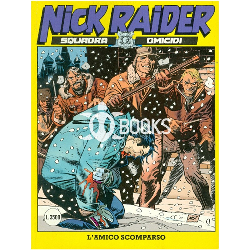 Nick Raider - numero 122