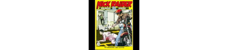 Nick Raider - Serie classica - Tutti i numeri della collezione a catalogo