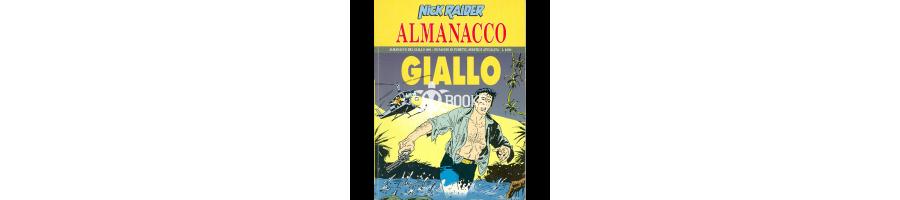 Nick Raider - Almanacchi del giallo - Tutti i numeri della collezione a catalogo